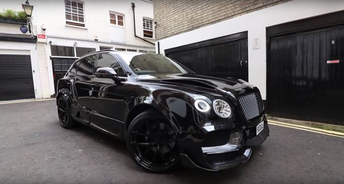 How About A Tricked Out Bentley Bentayga 50 Plano