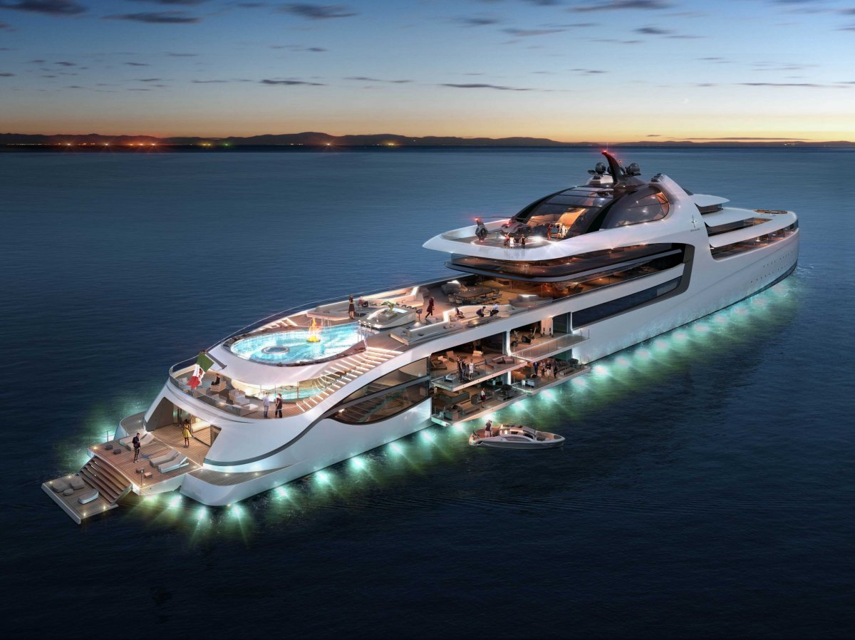 The Most Insane Yachts on the Planet